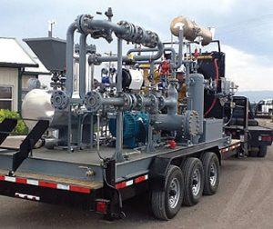 Leistritz Multiphase Blow Down Unit (MBDU)