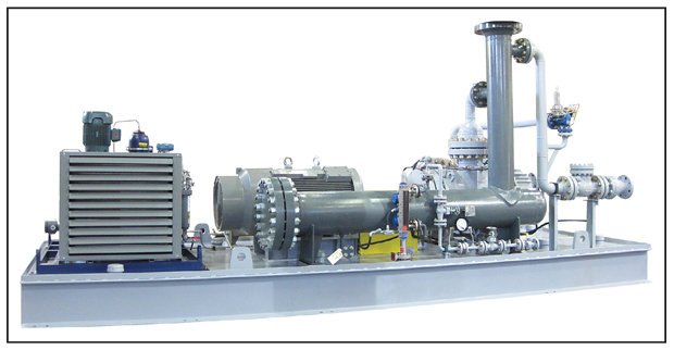 Production Site Before and After Installing Multiphase Pumps