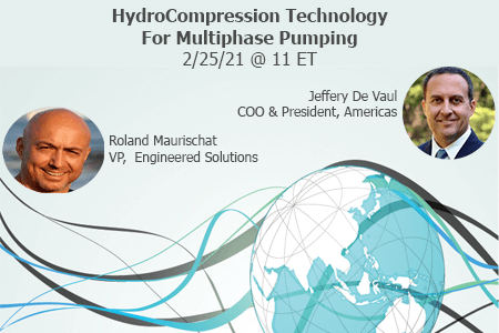 Live: The Next step in Multiphase Technology The Patented HydroCompressor Upstream Solution